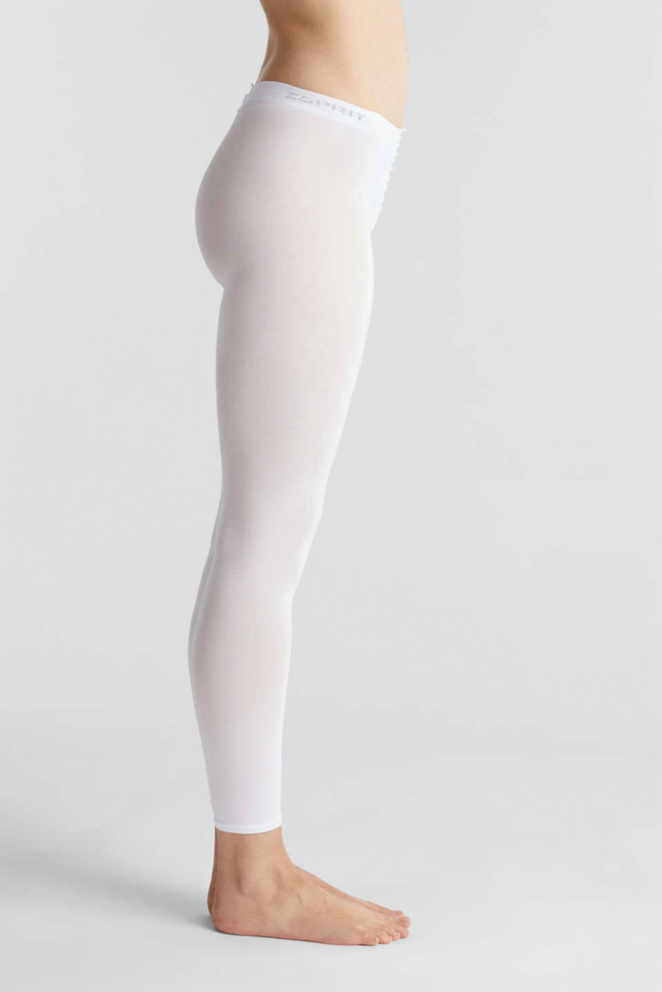Esprit - Opaque leggings, blended cotton