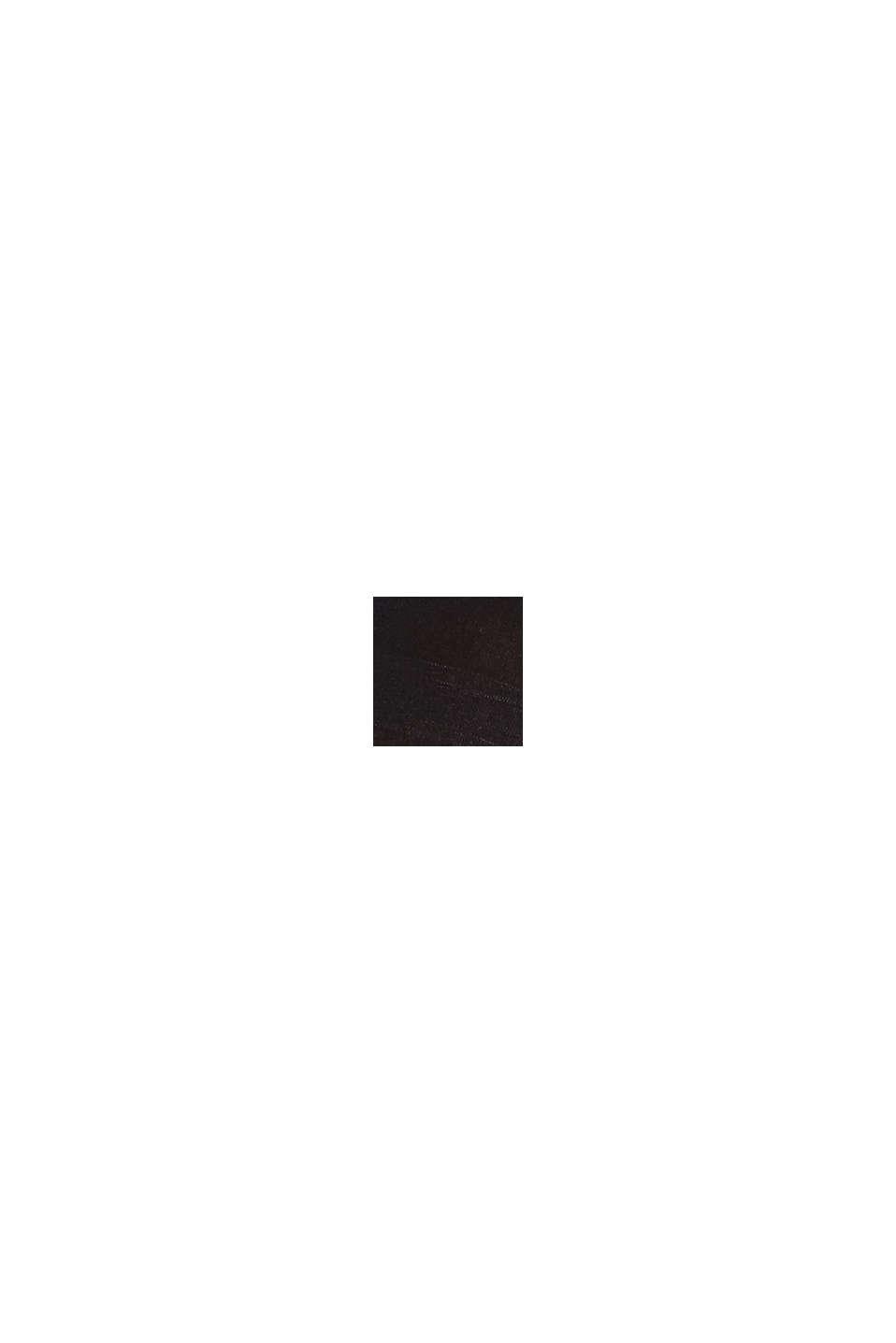 Leggings coprenti in misto cotone, BLACK, swatch