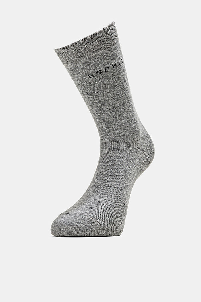 2er-Pack Socken in Melange-Optik