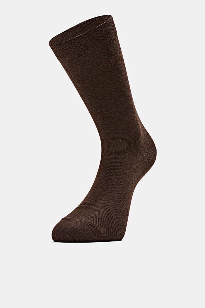 Pack de dos calcetines con efecto jaspeado