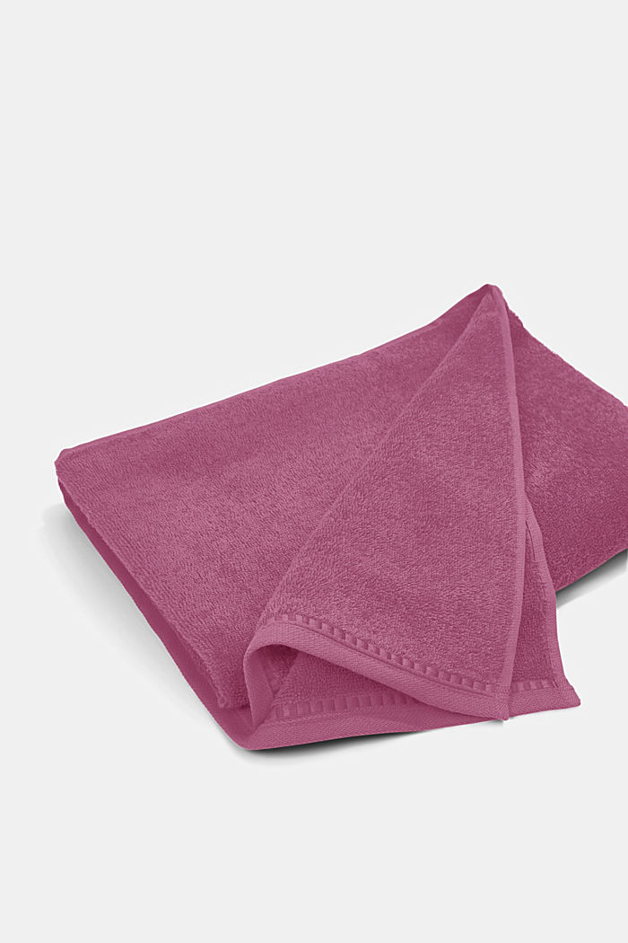 Containing TENCEL™: terry cloth towel set, BLACKBERRY, detail image number 4