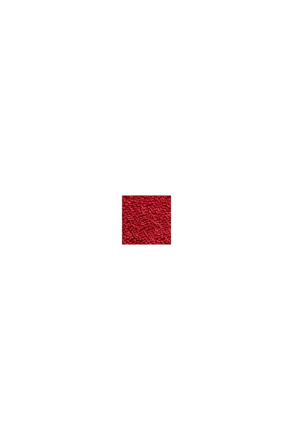 Mit TENCEL™: 3er-Handtuch-Set aus Frottee, RUBIN, swatch