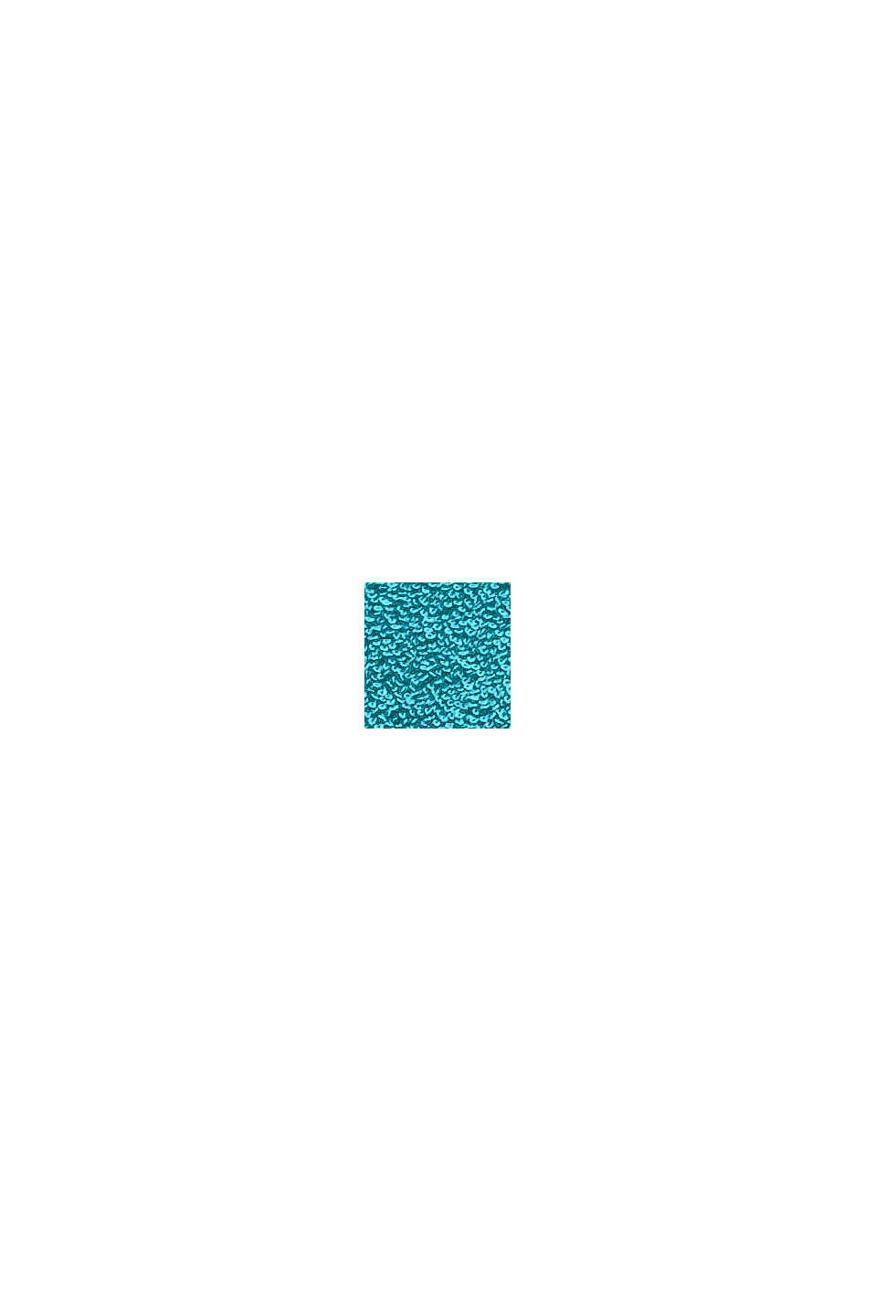 Mit TENCEL™: 3er-Handtuch-Set aus Frottee, TURQUOISE, swatch