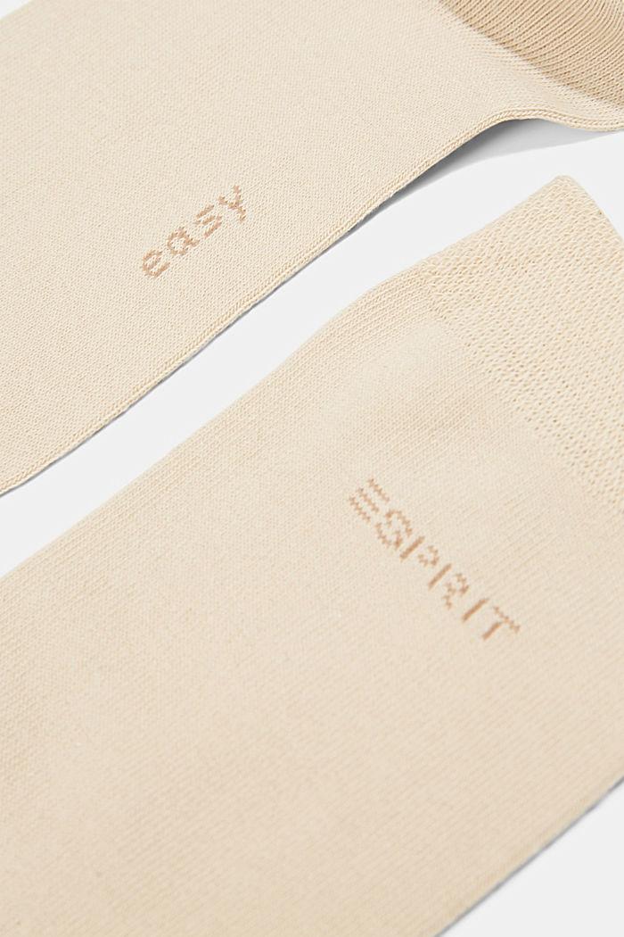 2er-Pack Socken mit Softbund, CREAM, detail image number 2