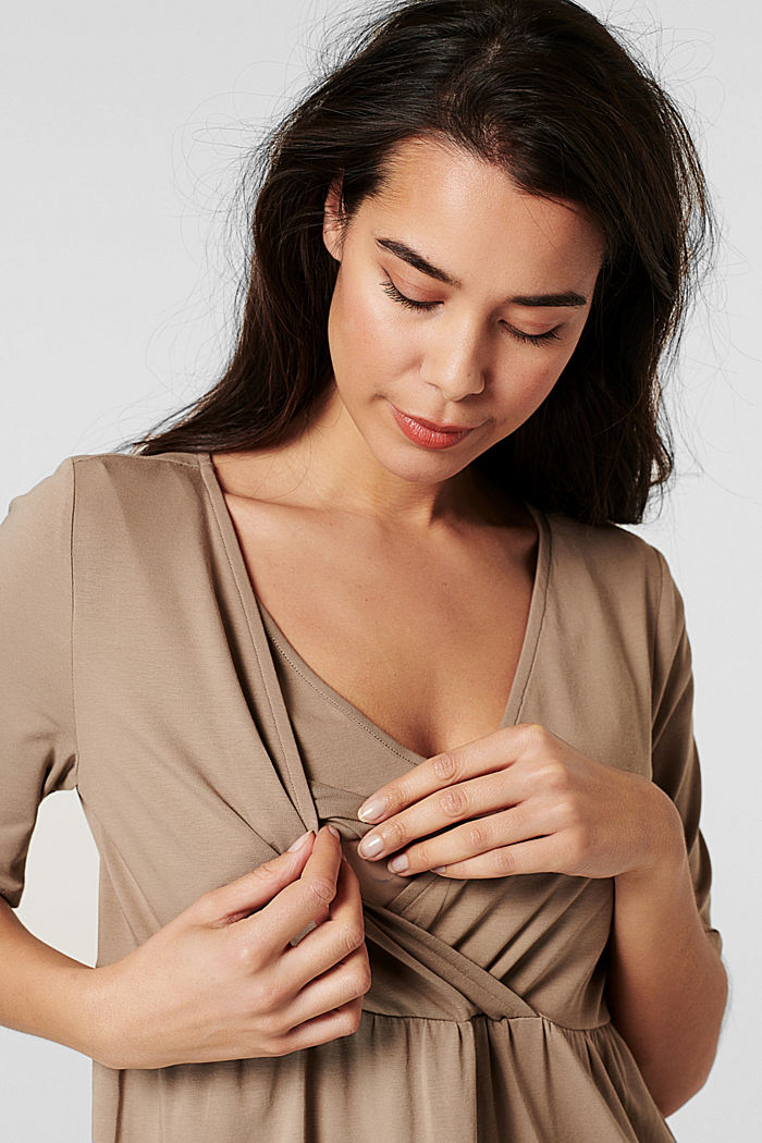 Dresses knitted, LIGHT TAUPE, detail image number 2