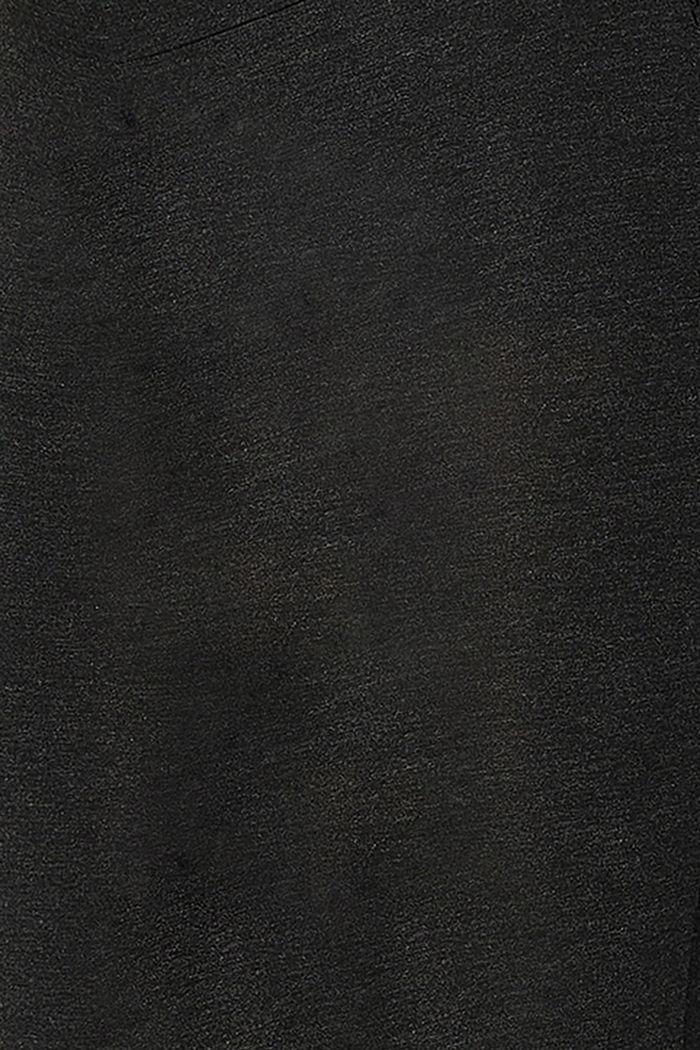 Leggings con faja premamá, LENZING™ ECOVERO™, ANTHRACITE MELANGE, detail image number 2