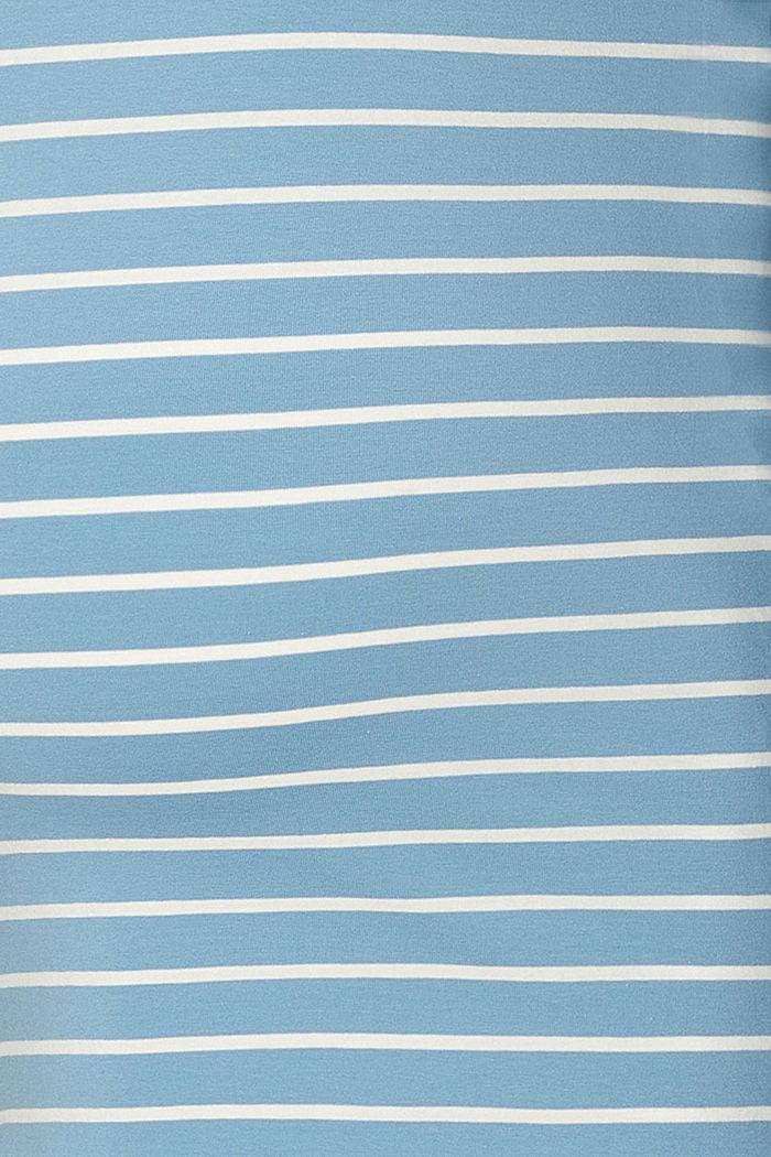 Imetykseen sopiva pitkähihainen luomupuuvillaa, SHADOW BLUE, detail image number 2