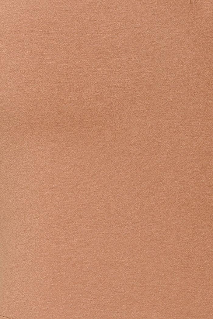 Imetyspitkähihainen, LENZING™ ECOVERO™, TOFFEE BROWN, detail image number 4