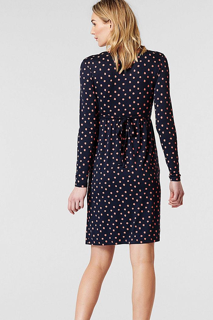 Jerseykleid mit Stillfunktion, LENZING™ ECOVERO™, NIGHT SKY BLUE, detail image number 2