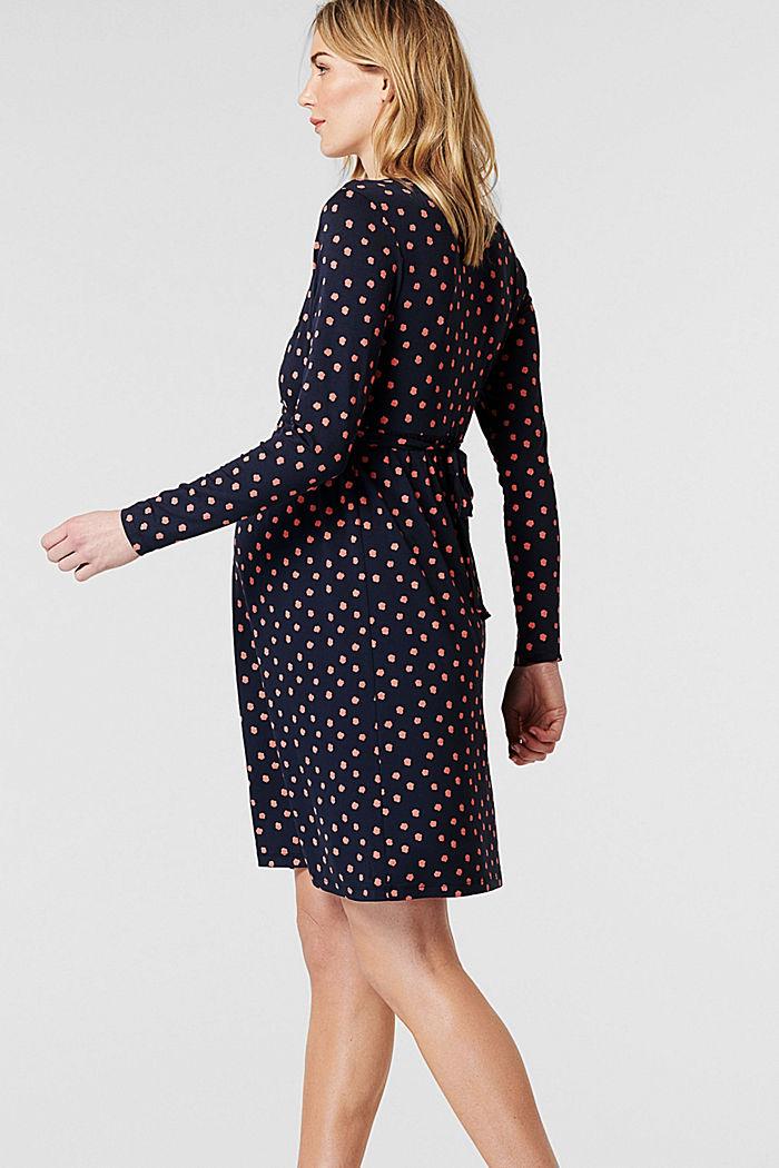 Jerseykleid mit Stillfunktion, LENZING™ ECOVERO™, NIGHT SKY BLUE, detail image number 4