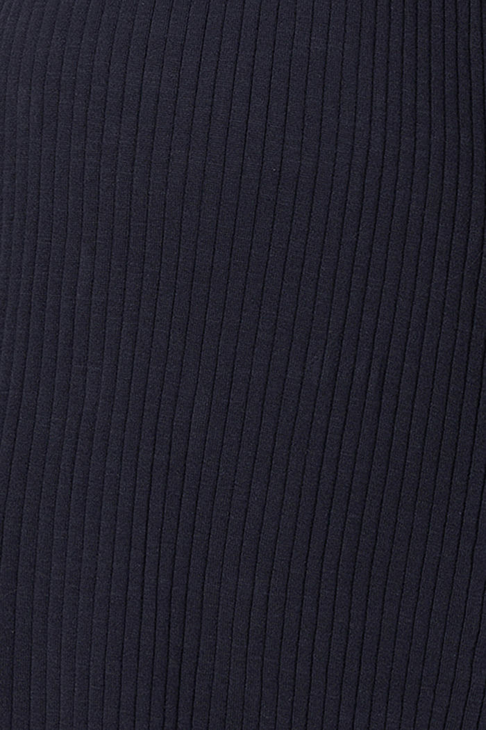 Fine-knit dress made of 100% organic cotton, NIGHT SKY BLUE, detail image number 3