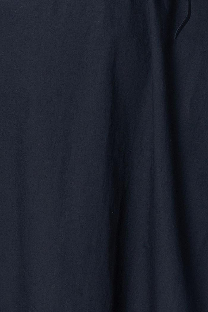 Vestido camisero en 100% algodón, NIGHT SKY BLUE, detail image number 2