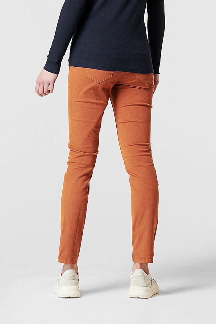 Pantalon stretch à ceinture de maintien ventrale, RUST, detail image number 1