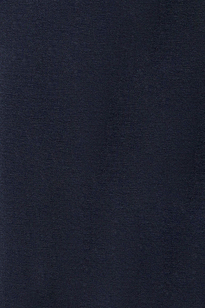 Broek van compacte sweatstof met band over de buik, NIGHT SKY BLUE, detail image number 2