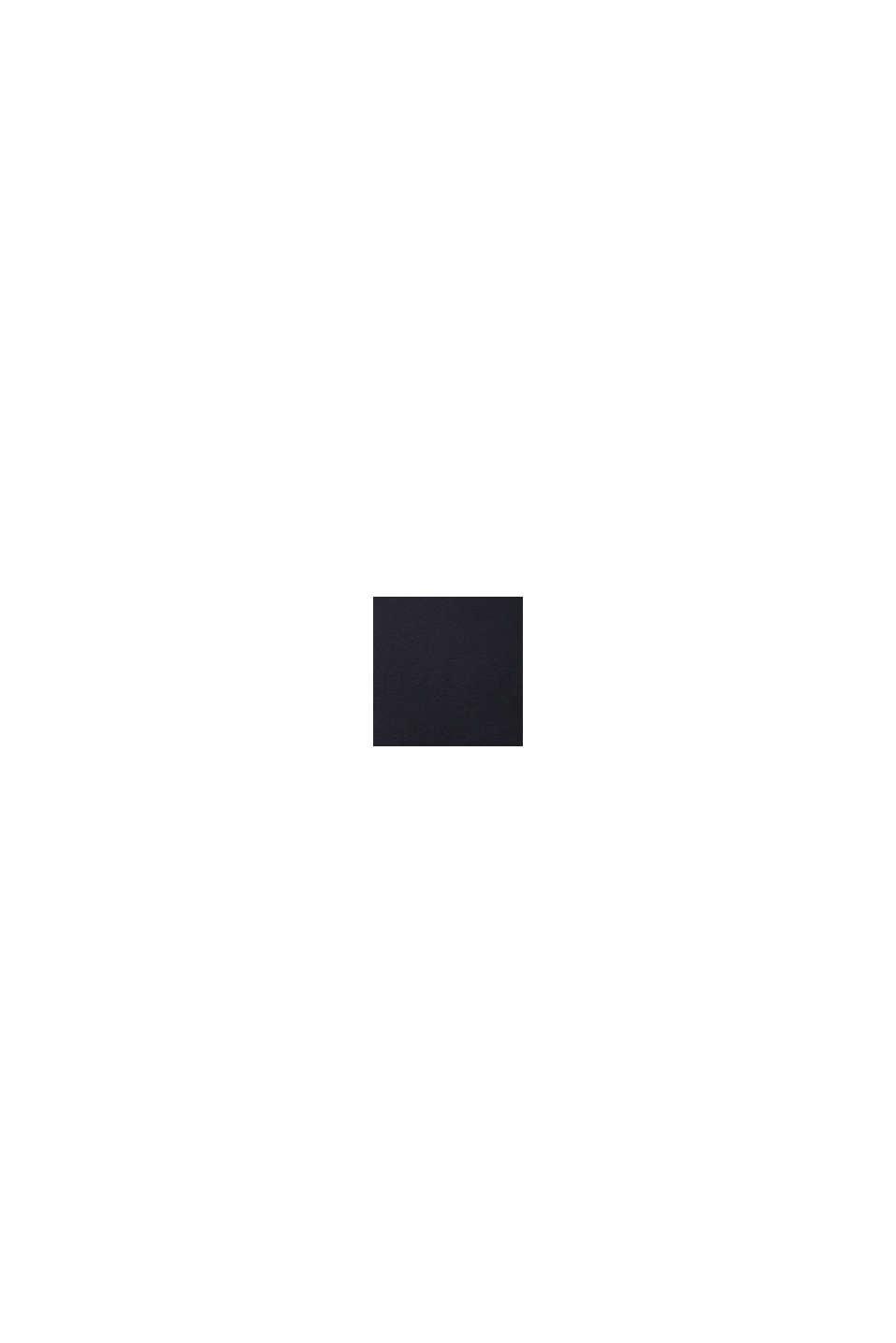 Longsleeve met print van biologisch katoen, BLACK, swatch