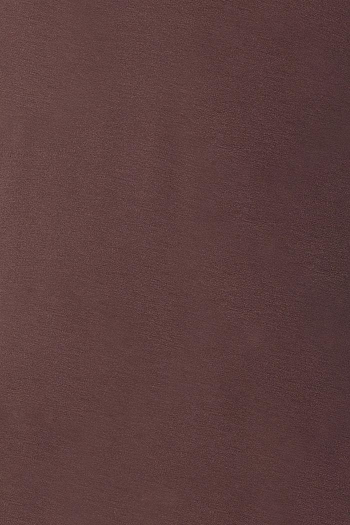 Imetystä helpottava paita LENZING™ ECOVERO™ -materiaalia, COFFEE, detail image number 4