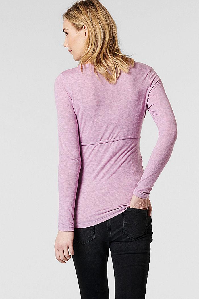 T-Shirts, PALE PURPLE, detail image number 3