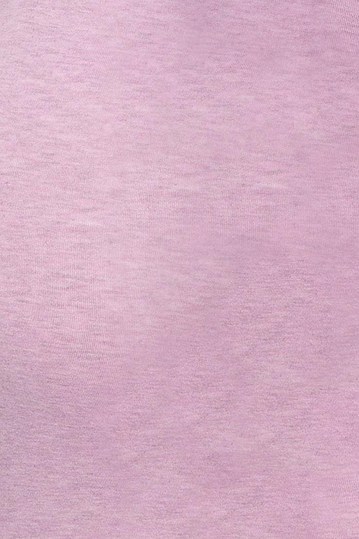 T-Shirts, PALE PURPLE, detail image number 4