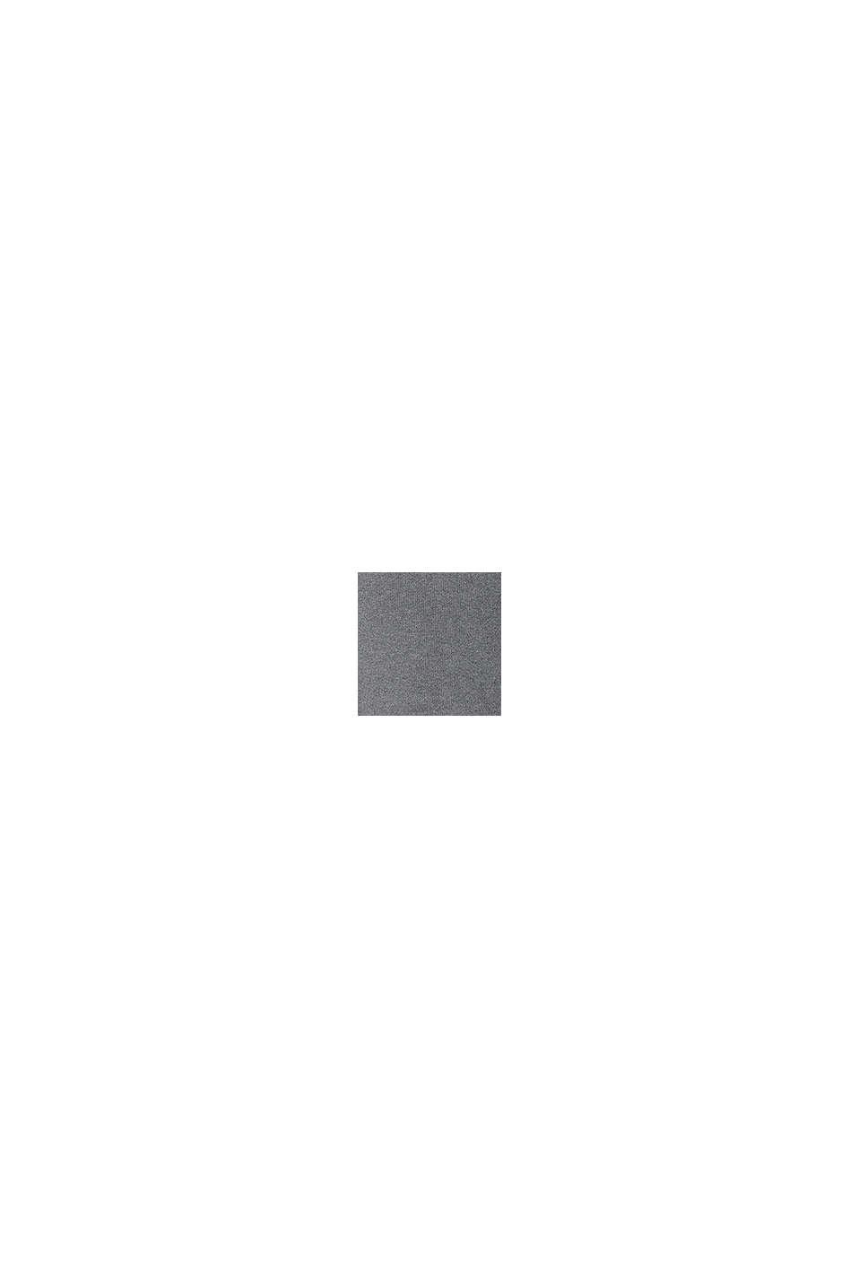 Robe en maille en coton biologique mélangé, MEDIUM GREY, swatch