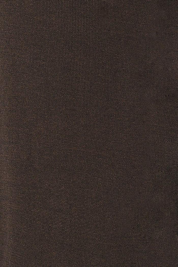 Neulemekko luomupuuvillasekoitetta, COFFEE, detail image number 3