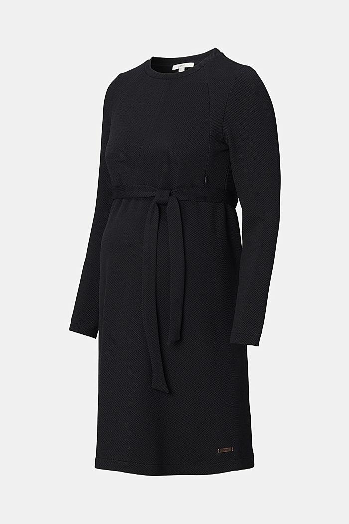 Reciclado: vestido de lactancia en jersey