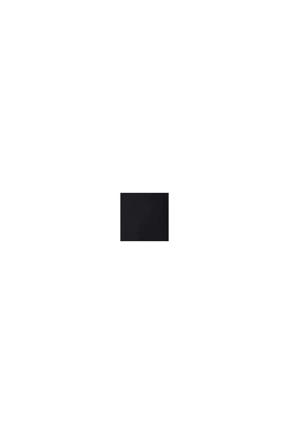 Reciclado: vestido de lactancia en jersey, BLACK, swatch