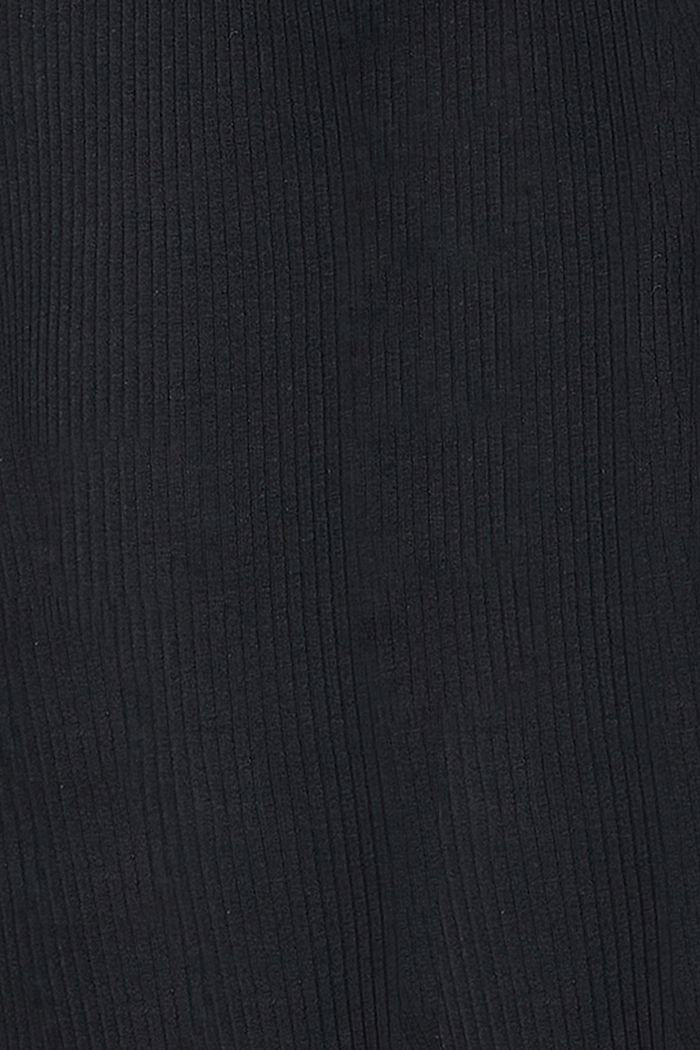 Leggings mit Unterbauchbund, Organic Cotton, BLACK, detail image number 3