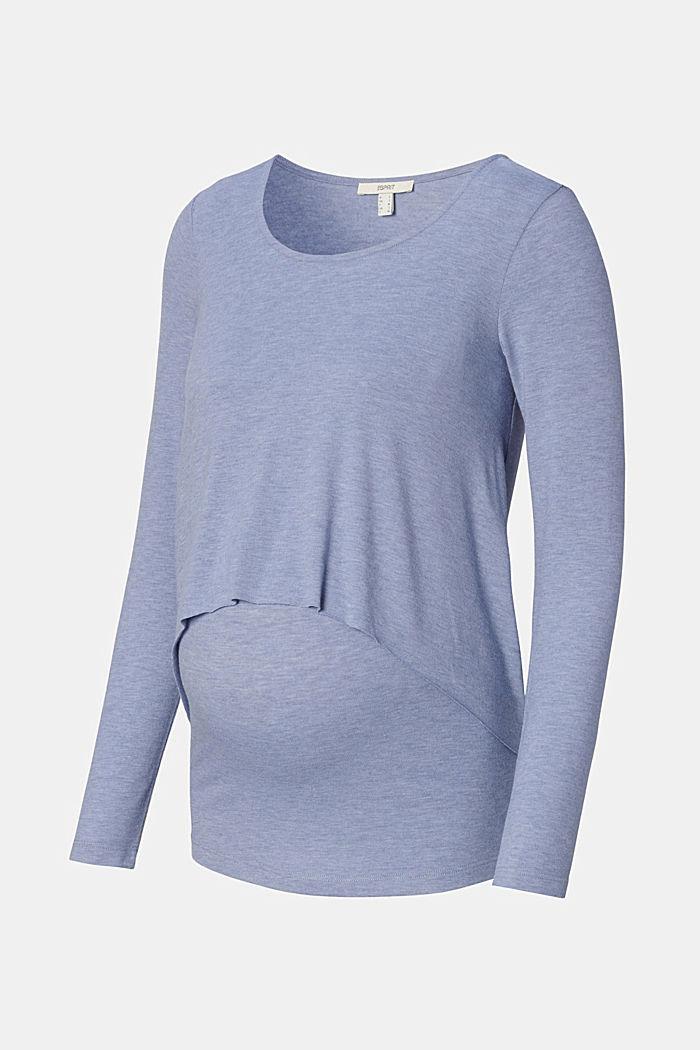 T-Shirts, GREY BLUE, detail image number 6