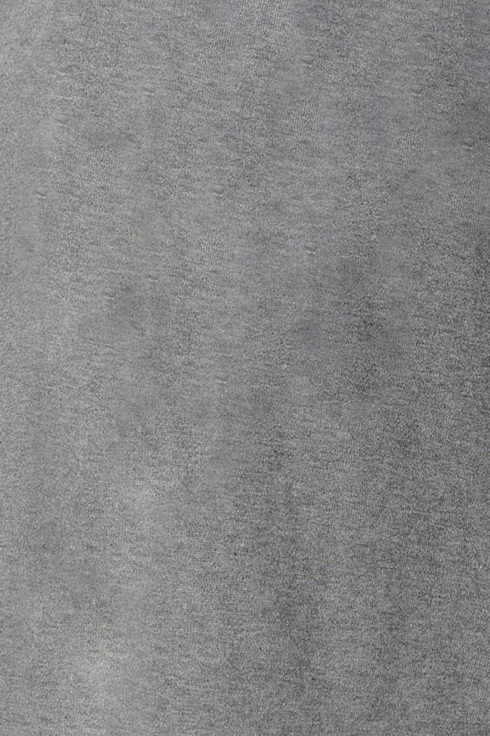 Sweaters cardigan, MEDIUM GREY, detail image number 4