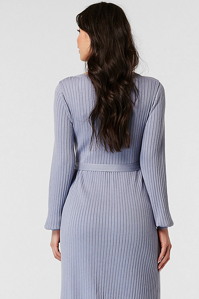 Dresses knitted, GREY BLUE, detail image number 1
