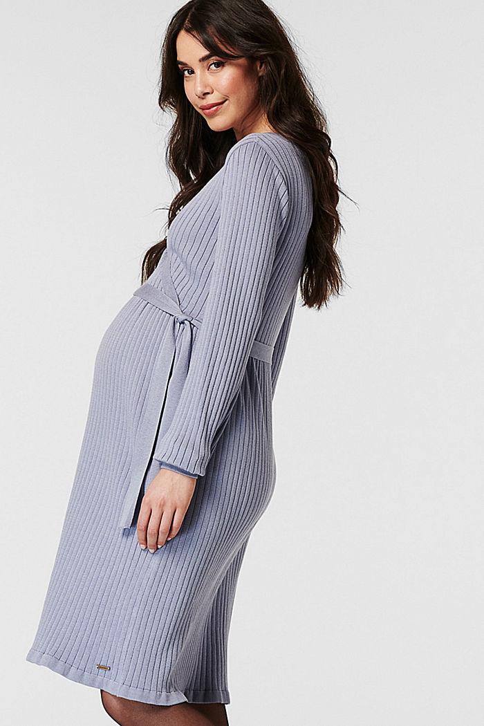 Dresses knitted, GREY BLUE, detail image number 2