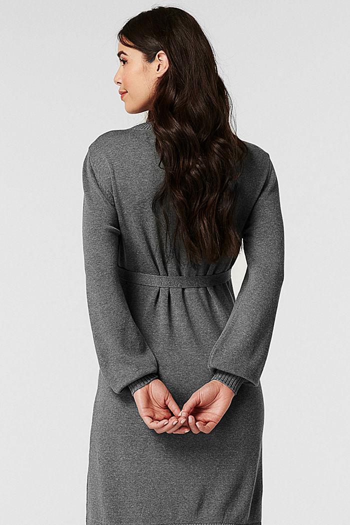 Dresses knitted, ANTHRACITE MELANGE, detail image number 1