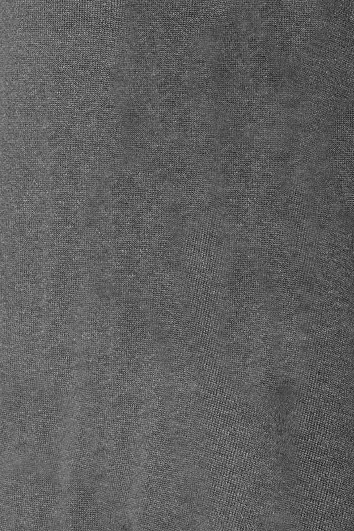 Dresses knitted, ANTHRACITE MELANGE, detail image number 3
