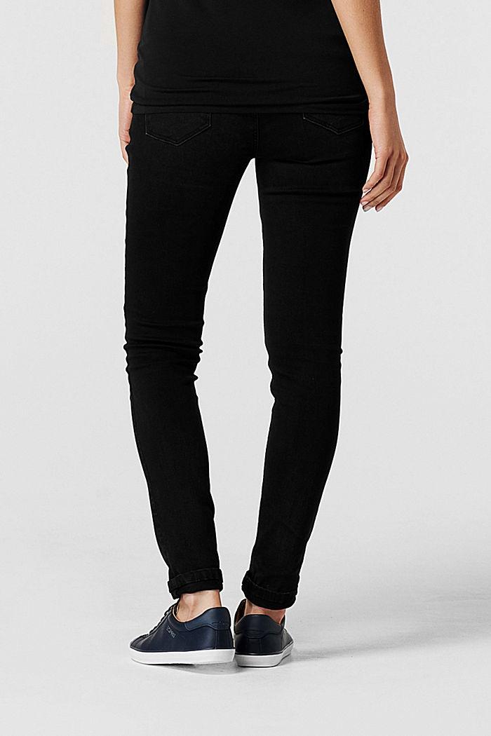 Pants denim, BLACK DARK WASHED, detail image number 1