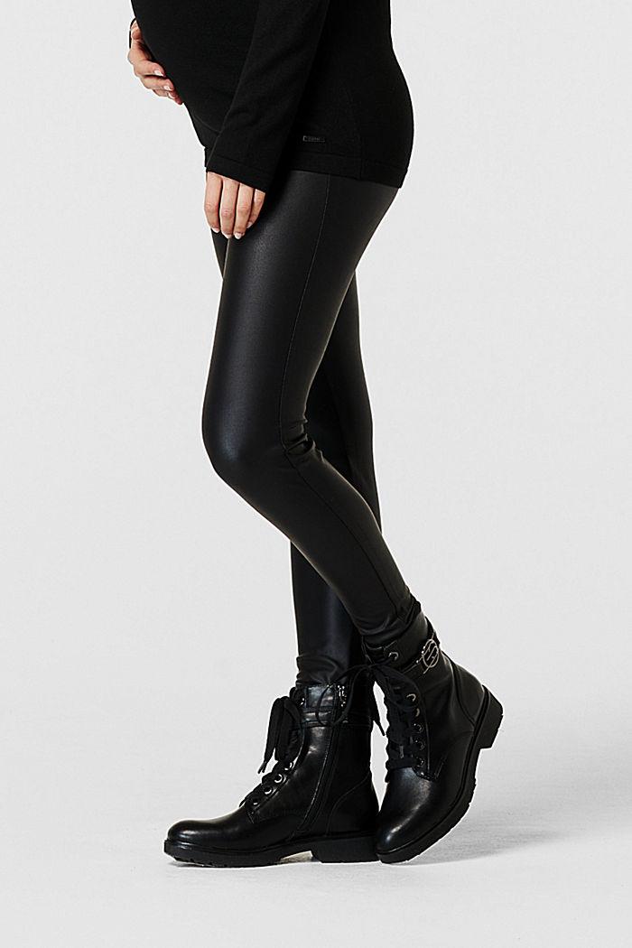 Leggings, BLACK, detail image number 3