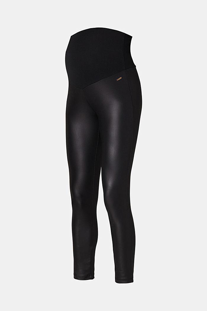 Leggings, BLACK, detail image number 1