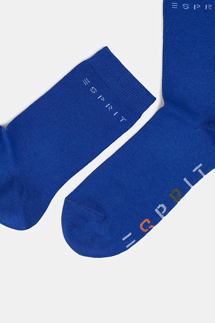 2er-Pack Socken mit Logo-Intarsie