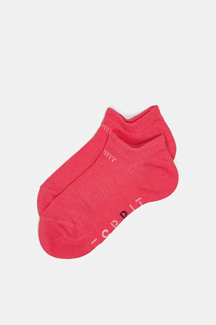 2er-Pack Sneaker-Socken mit Logo