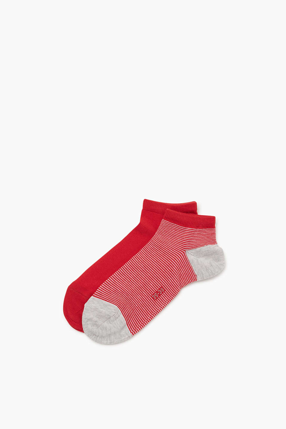 Esprit - Two-pair pack of socks with fine stripes