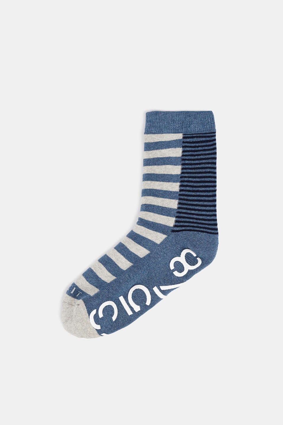 Non-slip socks, LIGHT DENIM, detail image number 0