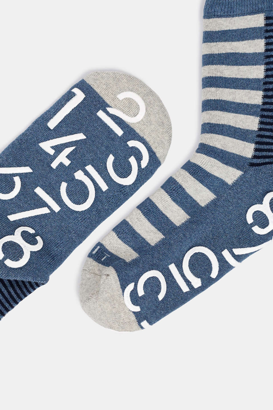 Socks, LIGHT DENIM, detail image number 1