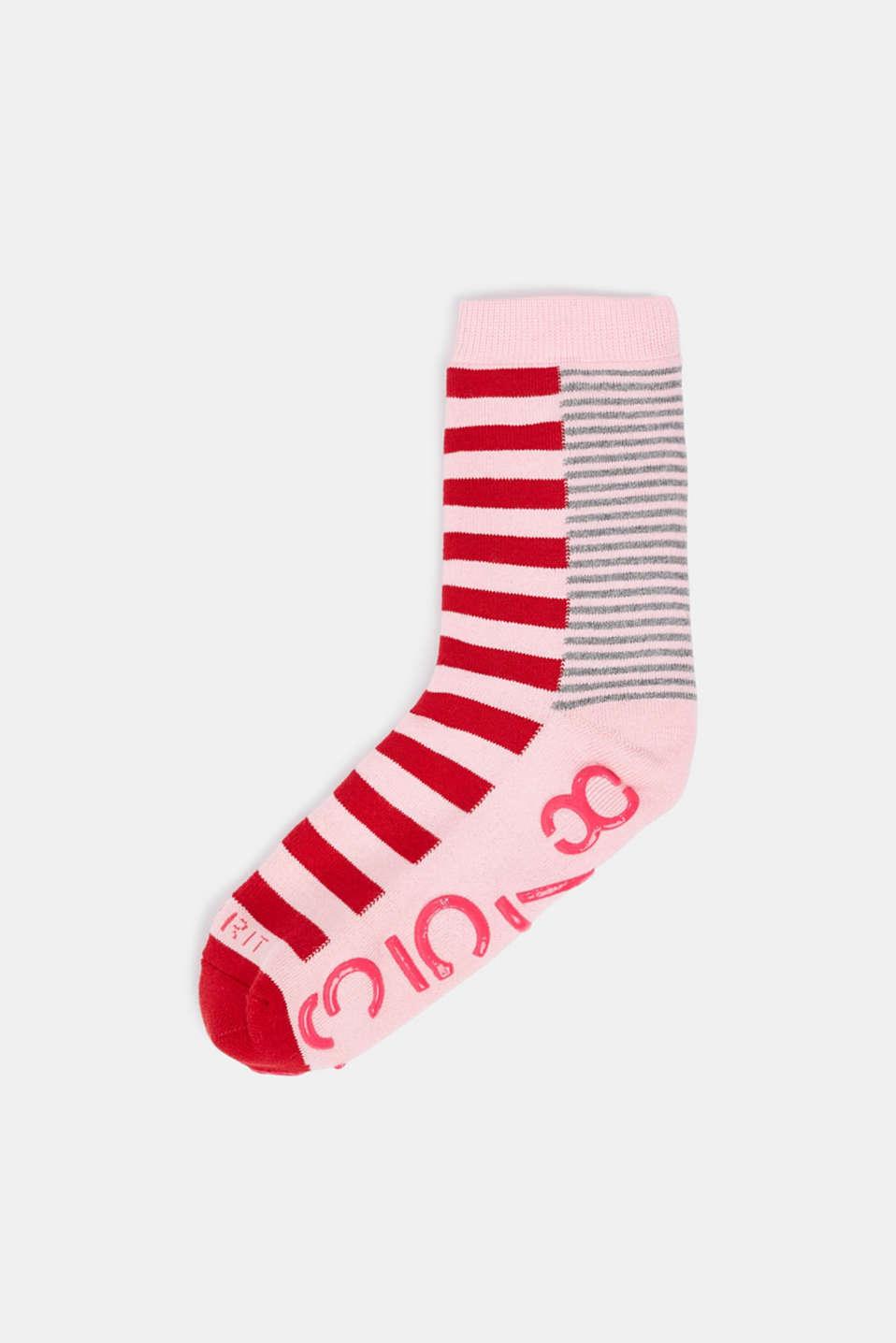Non-slip socks, ROSE, detail image number 0