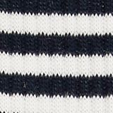 Double pack of socks with a striped look, MARINE, swatch