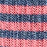 Lot de 2 paires de chaussettes à motif rayé, FUCHSIA, swatch