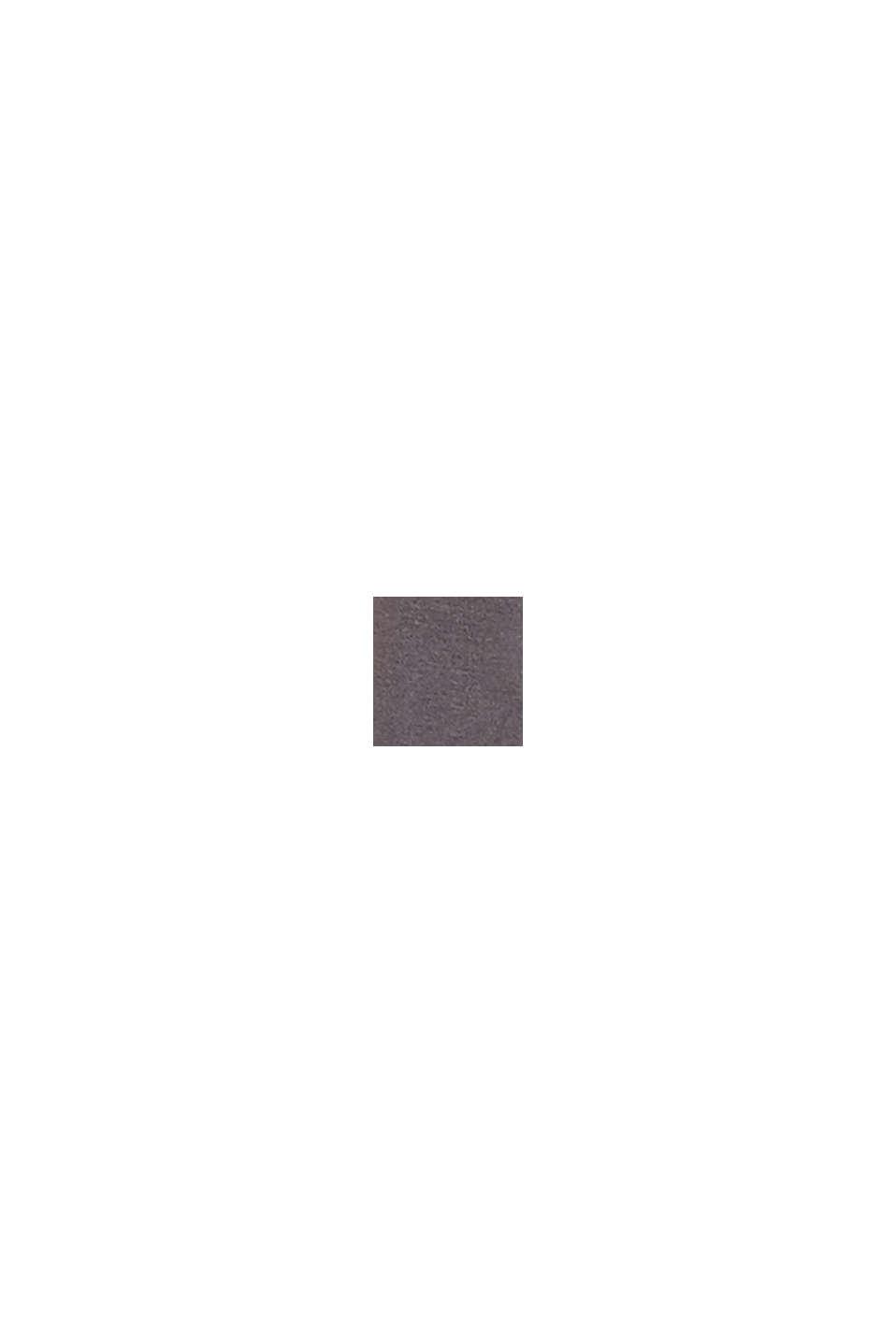 Ondoorzichtige maillot van een katoenmix, STONE GREY, swatch