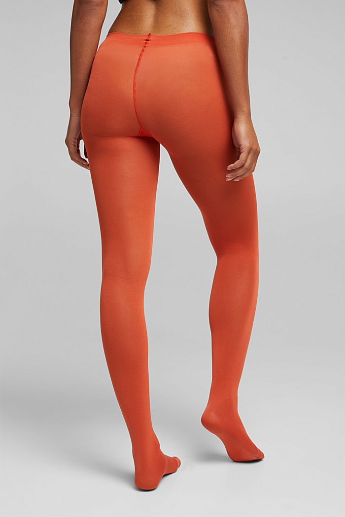 Tights, TANGERINE, detail image number 1