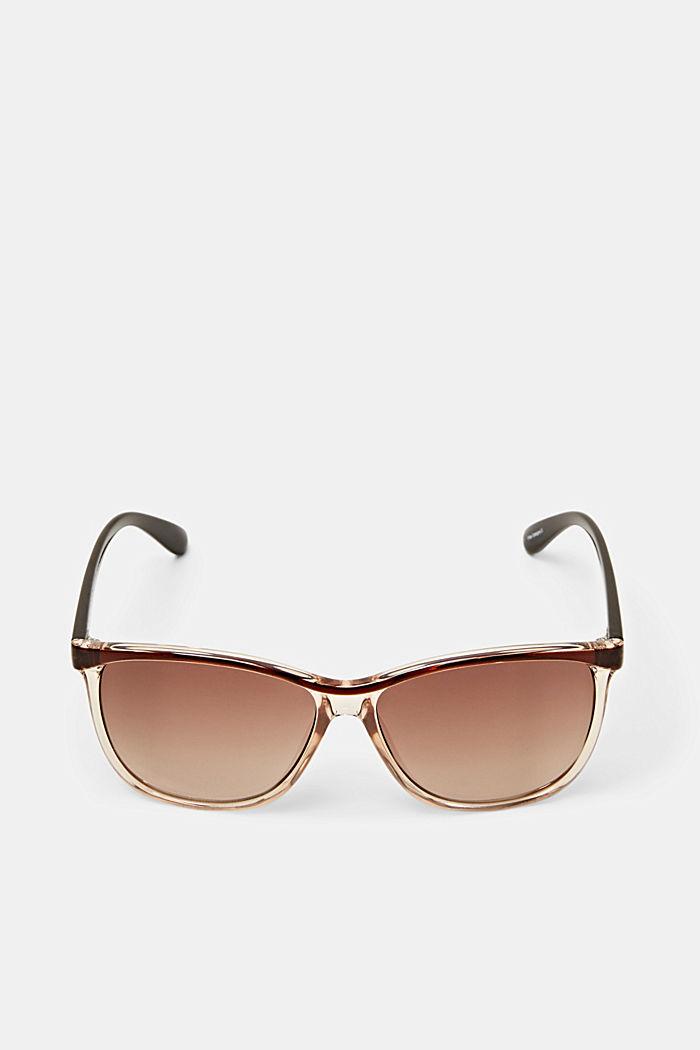 Sluneční brýle s poloprůhlednými očnicemi, BROWN, detail image number 1