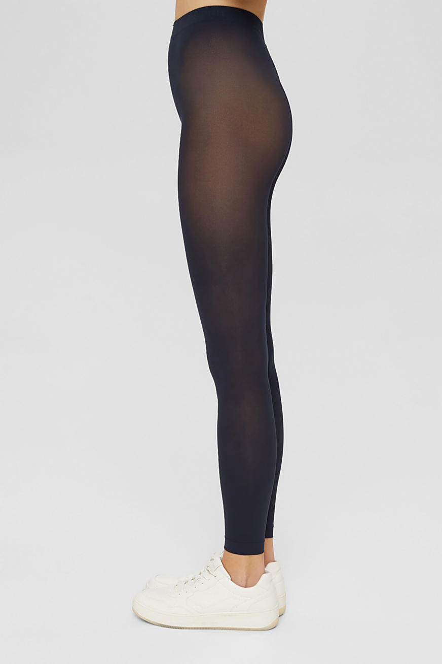 Halftransparante legging , 50 denier
