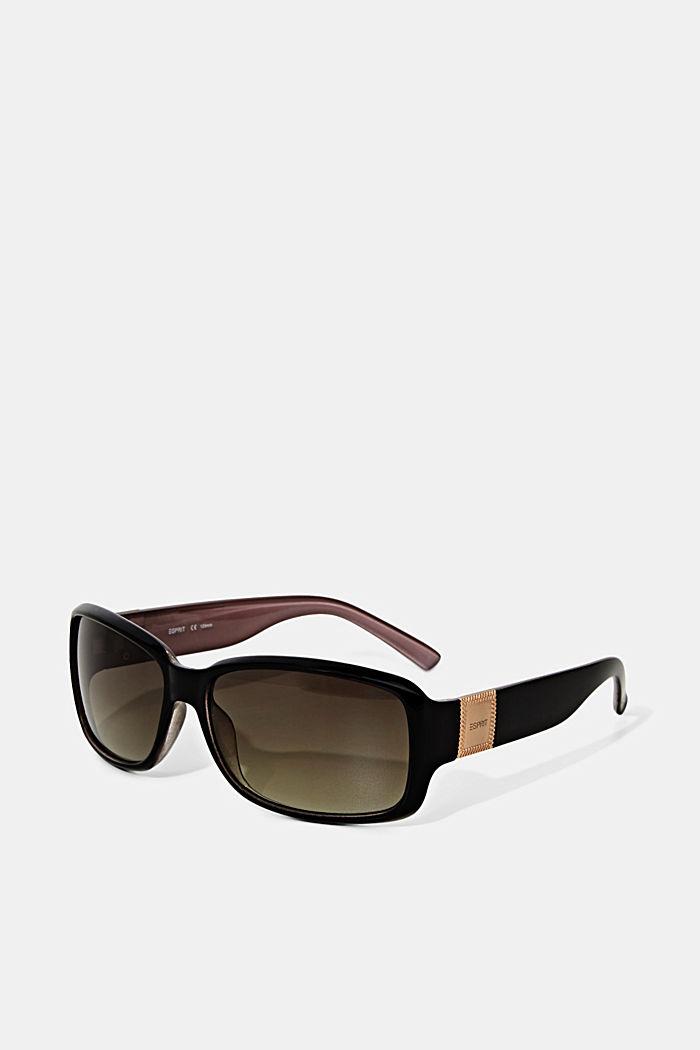 Sunglasses, BROWN, detail image number 3