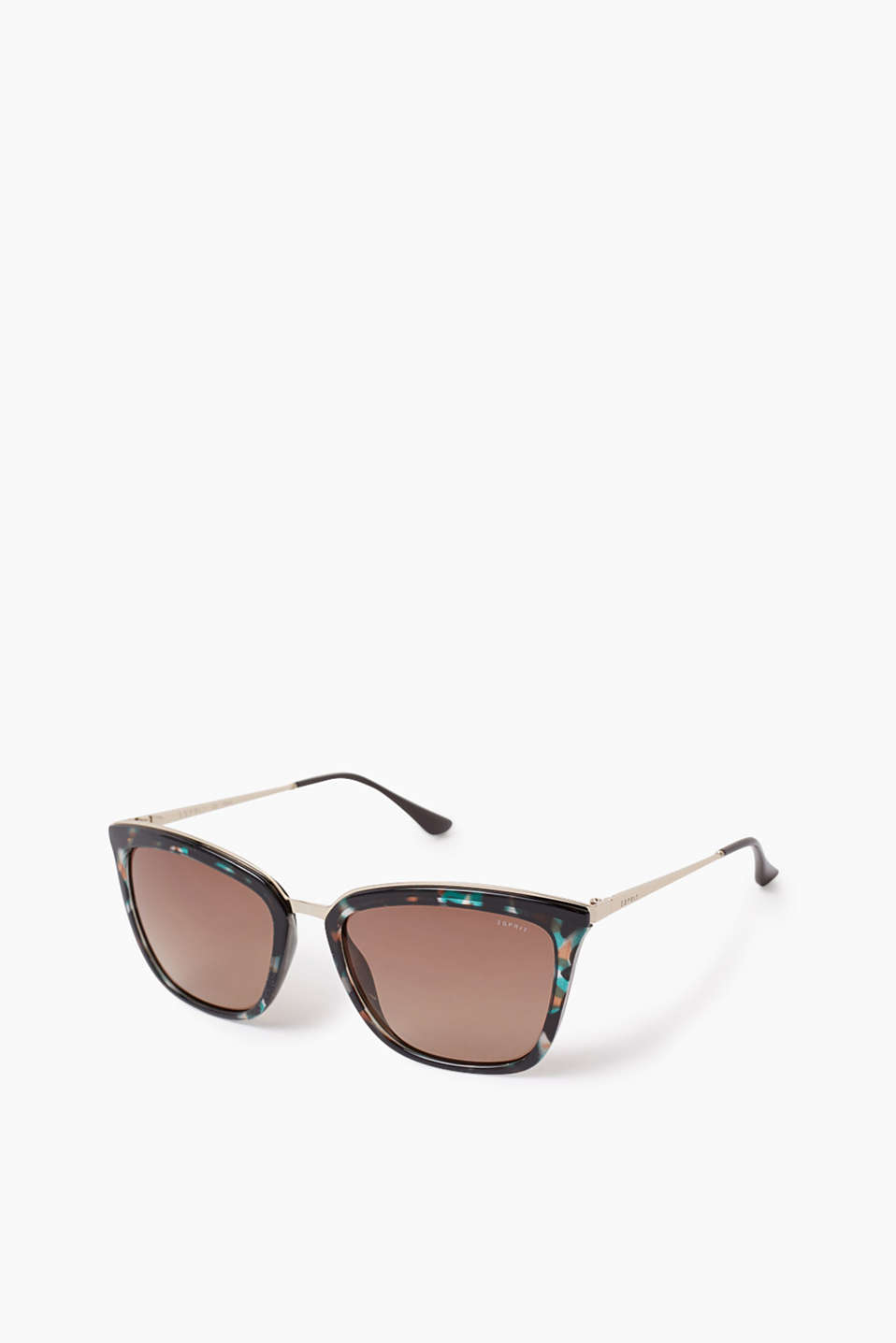 Esprit - Cat eye sunglasses with metal temples